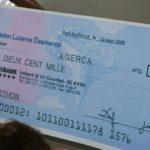 Comment rédiger un chèque