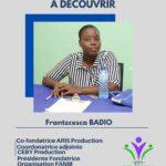 Frantzcesca BADIO lutte pour le bien-être de la Femme.