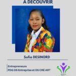 Sofia Desinord, une jeune fille très dynamique.